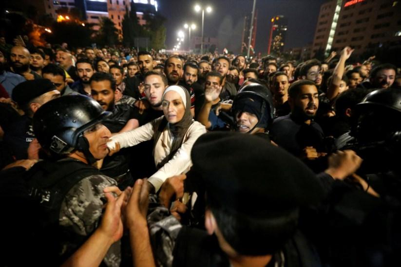 Austeridade enche ruas de Amã com protestos há três dias   Jordânia ... ad05b0d0d1
