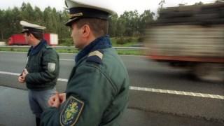 Carro, policial, polícia, estrada