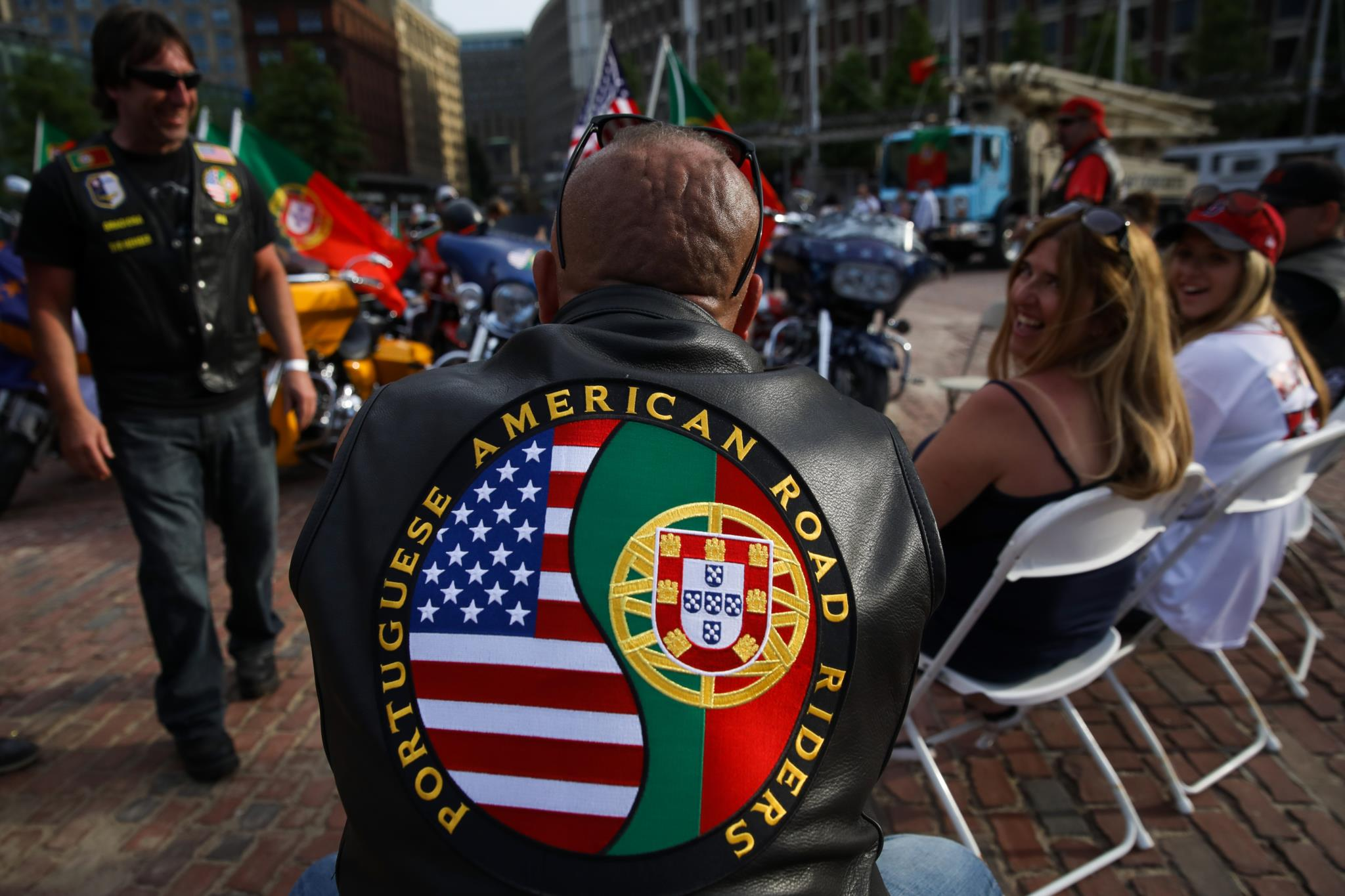 Portugueses esperaram por Marcelo Rebelo de Sousa e António Costa em Boston