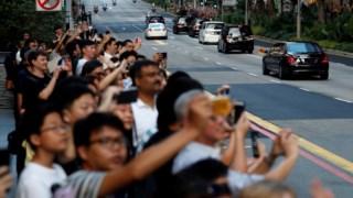 Kim Jong-un, Donald Trump, Lee Hsien Loong, Estados Unidos, Coreia do Norte, The Istana