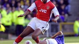Patrick Vieira destacou-se como jogador ao serviço do Arsenal, onde venceu por três vezes o campeonato inglês