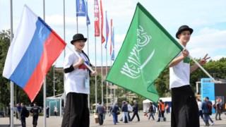 O Mundial começa nesta segunda-feira, com o embate Rússia-Arábia Saudita