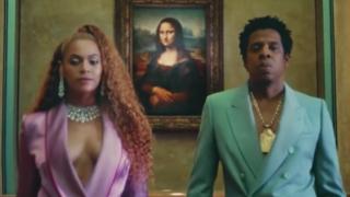 Beyoncé, Jay Z, Museu do Louvre