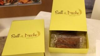 O Salt&Dreche é um snack salgado feito a partir de um subproduto da cerveja DR