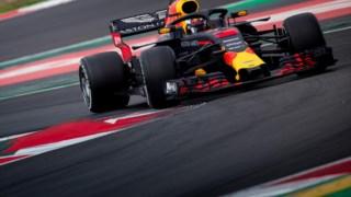 Campeonato Mundial de Fórmula 1 da FIA de 2018, Teste F1 2018, Corrida da Red Bull, Scuderia Ferrari, Circuito de Barcelona-Catalunha, Campeonato Mundial de Fórmula Um de 2017, Mercedes AMG Petronas F1 Team