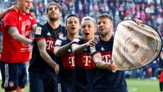 O Bayern de Munique são os actuais detentores do título alemão