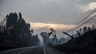 Pedrógão Grande, junho de 2017 Portugal incêndios florestais