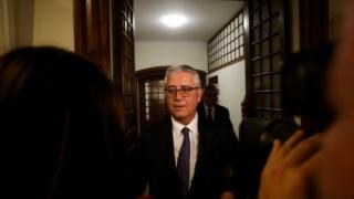 Fernando Negrão não respondeu sobre eventual demissão