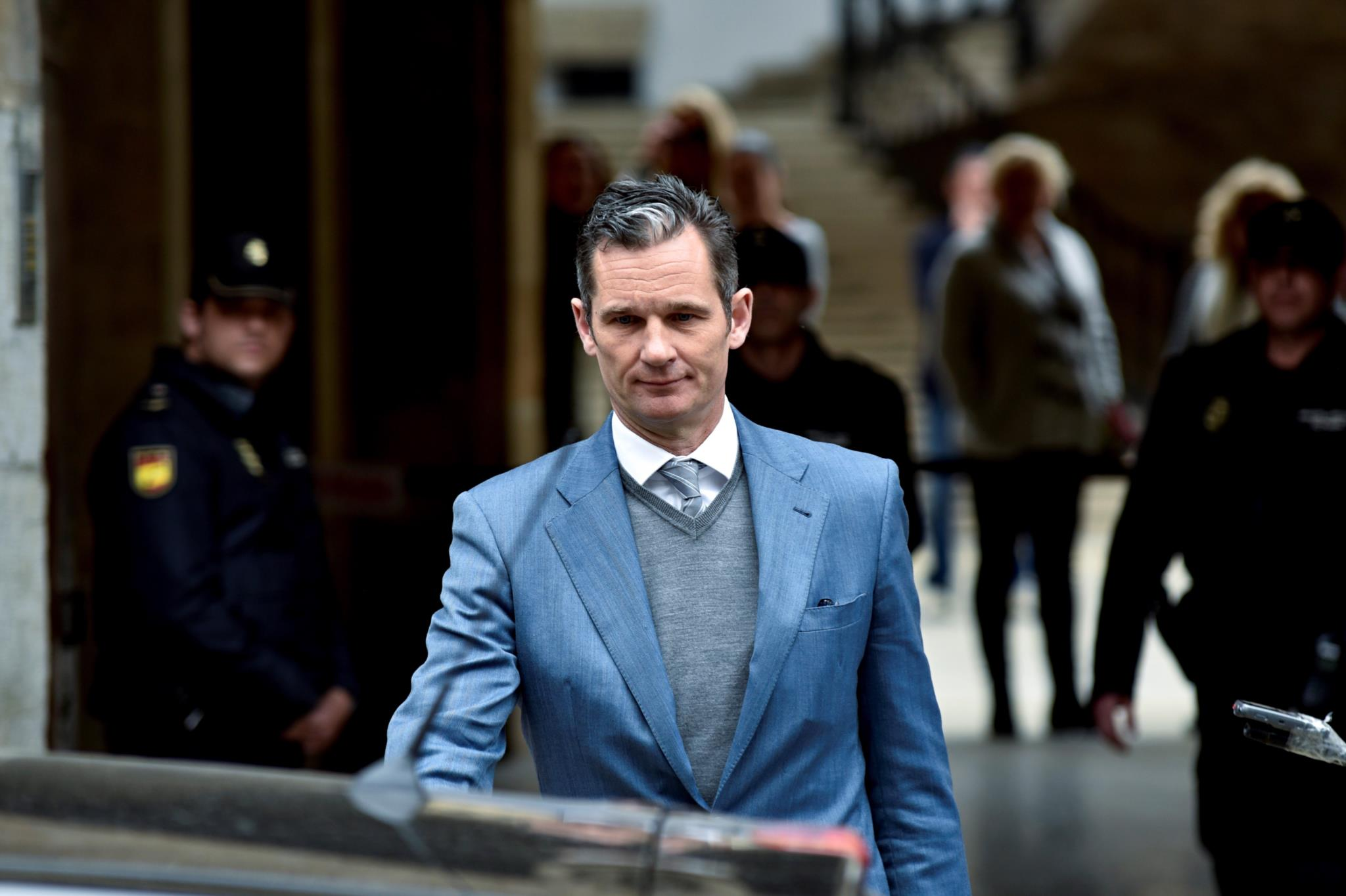 Felipe VI de Espanha, Espanha, Prisão