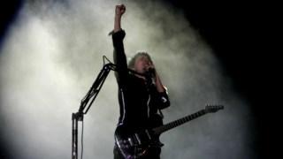 Guitarra baixo, concerto de rock, guitarra elétrica