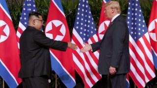 Coréia do Norte, 2018 Cúpula da Coreia do Norte-Estados Unidos, Estados Unidos, Cingapura