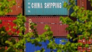 Estados Unidos, container intermodal, China