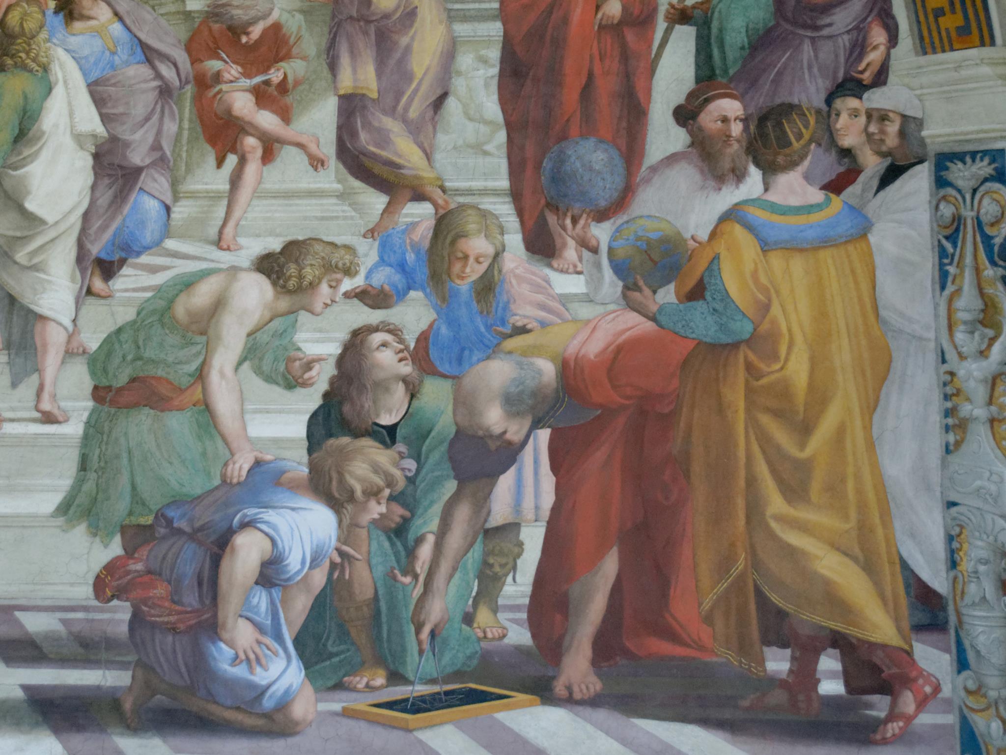 Contar histórias sobre desenhos: os diagramas na geometria grega antiga