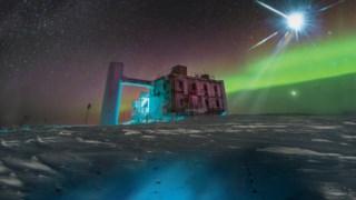 IceCube Observatório de Neutrinos, raio cósmico, 09738