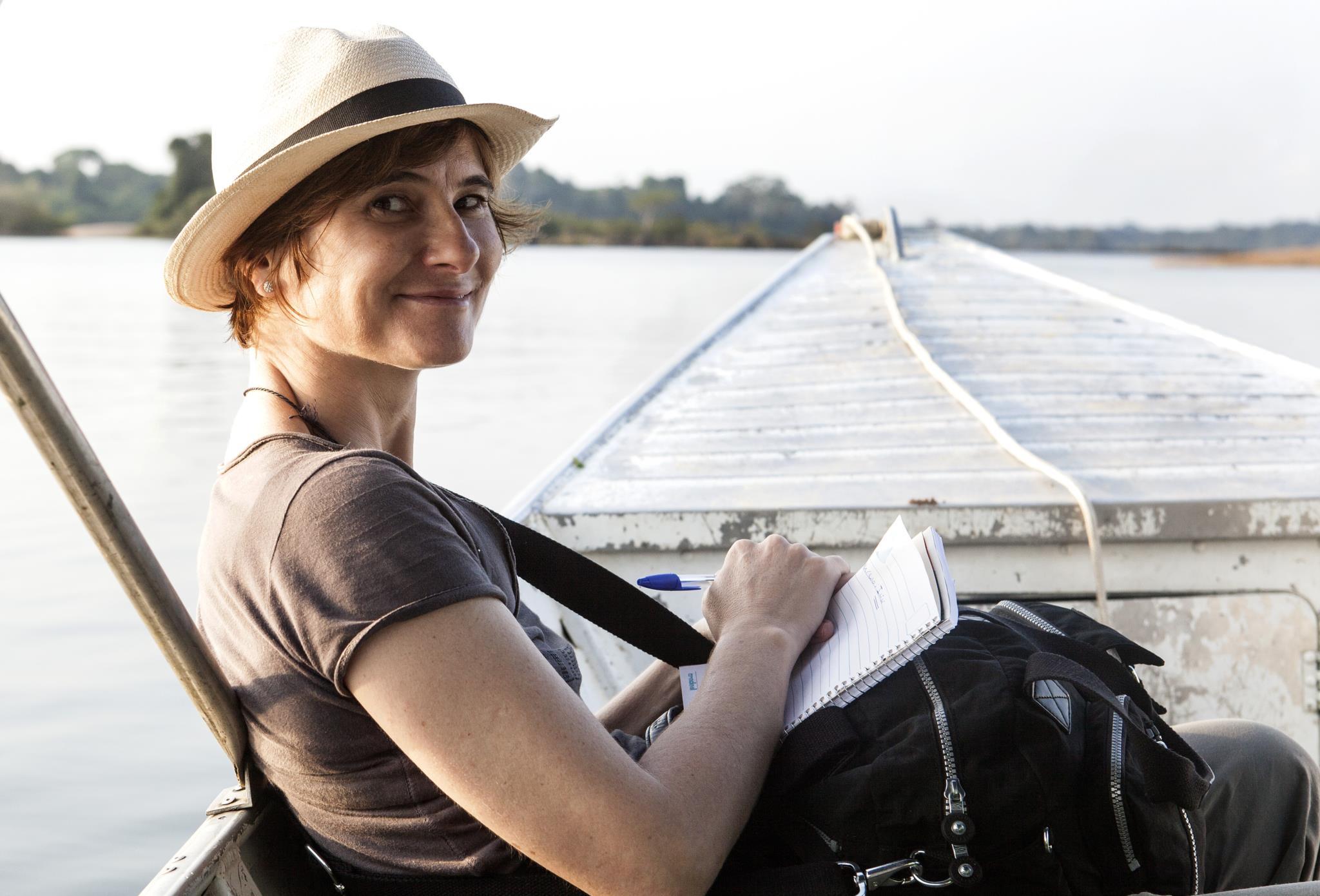 Eliane Brum é repórter, documentarista e escritora
