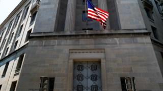O Departamento de Justiça, em Washington, está responsável pelo caso