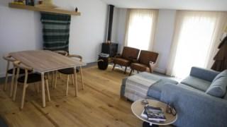Andar, Sala de estar, Casa, Piso de madeira