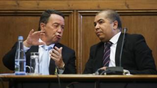Advogado de Pinho não concordou com interrogatório no dia em que ex-ministro era ouvido no Parlamento.