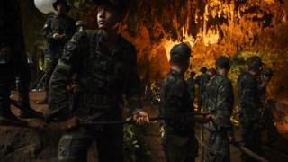 Tham Luang, resgate de caverna na Tailândia, resgate em cavernas