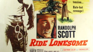 Karen steele, passeio solitário, randolph scott, passeio o país alto, ocidental, ator