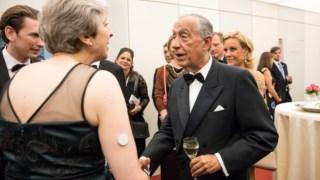 May pediu um breve encontro com Marcelo no intervalo da ópera