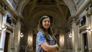 Margarida Balseiro Lopes conquistou a liderança da JSD em Abril