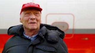 Lauda venceu três vezes o campeonato mundial de Fórmula 1