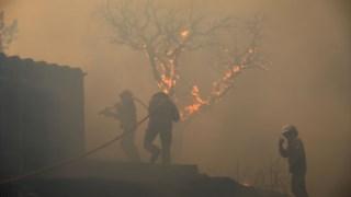 Incêndio já faz parte da lista de mega-incêndios em Portugal.