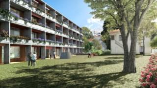 Imagem virtual da construção licenciada para a Quinta de Montebelo
