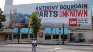 Anthony Bourdain, falecido em Junho, apresentava <i>Parts Unknown</i> na CNN