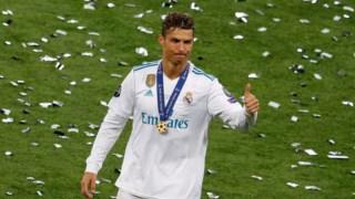 Cristiano Ronaldo despediu-se do Real Madrid com a conquista da Liga dos Campeões