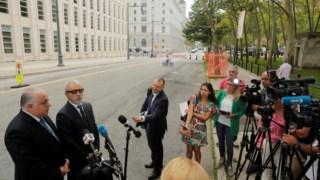 Defensores de José Maria Marin falam à comunicação social depois de conhecida a sentença