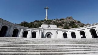 Vale dos Caídos, onde está sepultado o ditador