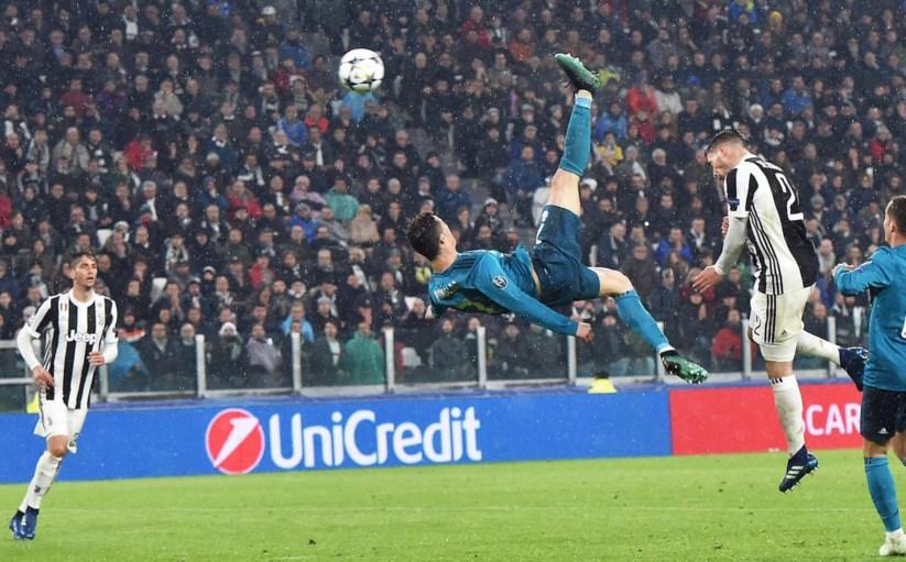 Pontapé de bicicleta de Cristiano Ronaldo eleito o melhor golo da época  63a95bcf648df