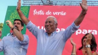 António Costa na rentreé do PS em Caminha