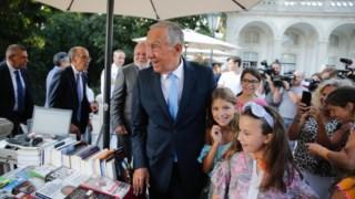 Marcelo inaugurou terceira Festa do Livro de Belém