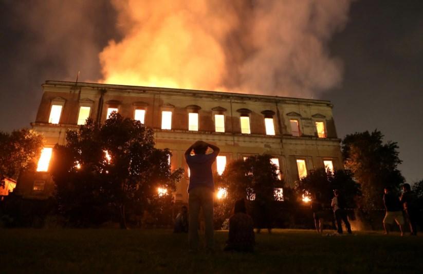 Resultado de imagem para Incêndio no Museu Nacional – 02/09