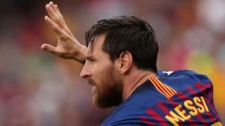 """O jogador do """"Barça"""" Lionel Messi"""