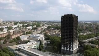 A Torre Grenfell ardeu a 14 de Junho de 2017