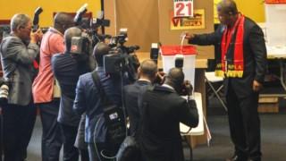 João Lourenço foi eleito com 98,59% dos votos