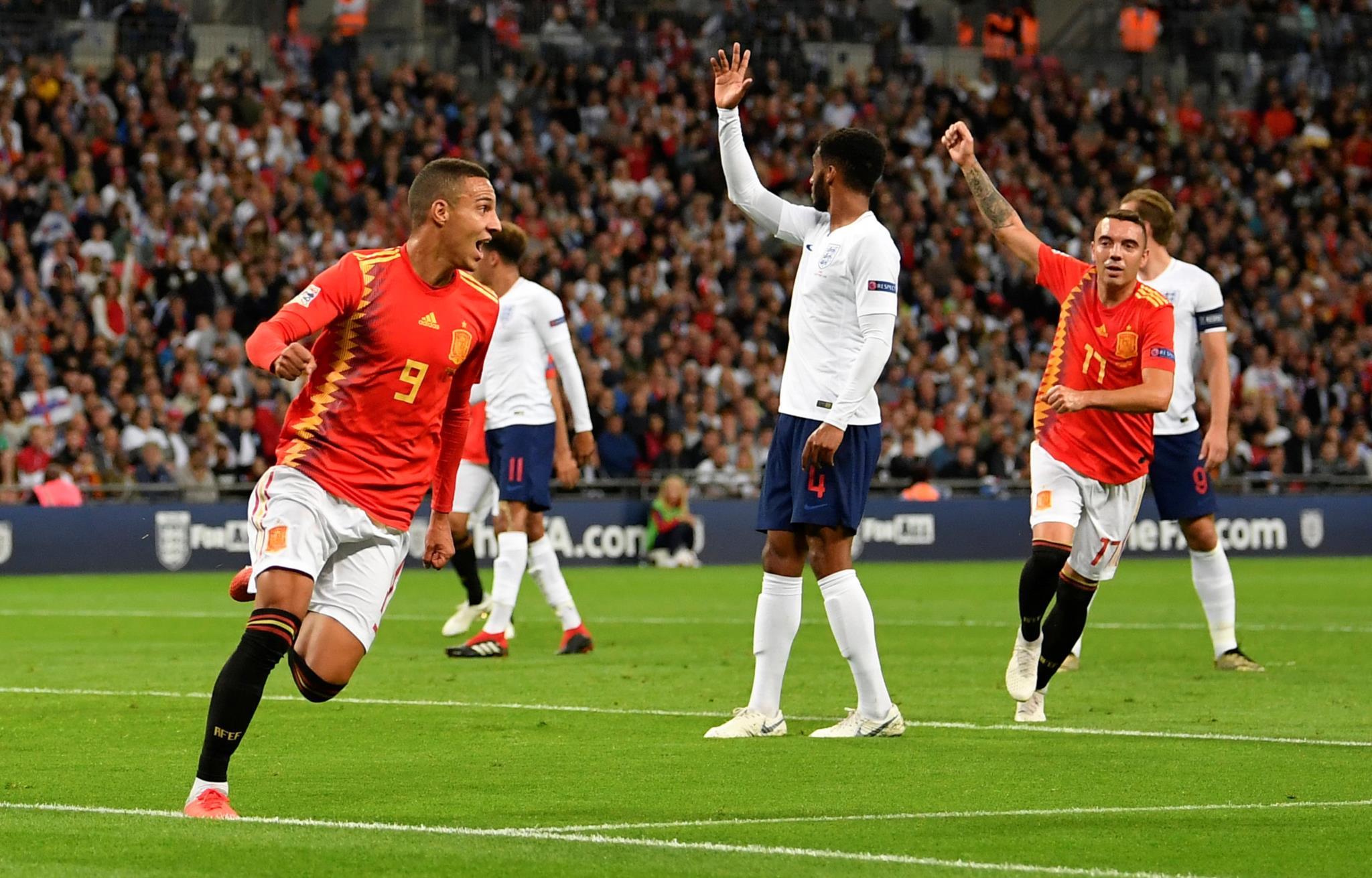 2853e62b80c82 A Espanha de Luis Enrique entrou a ganhar