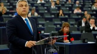 Viktor Orbán foi defender o seu regime ao Parlamento Europeu