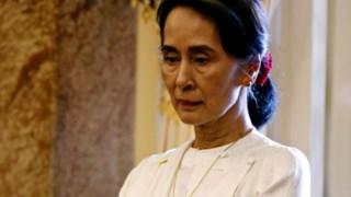 A conduta de Suu Kyi é directamente visada num relatório da ONU