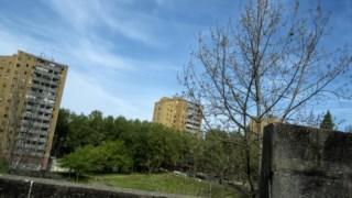 Três das cinco torres do bairro continuam de pé