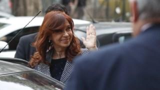 Cristina Kirchner foi formalmente acusada pelos crimes de suborno e corrupção, esta segunda-feira.