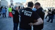 """Trânsito condicionado em Lisboa com taxistas contra a """"lei da Uber"""""""