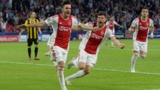 Tagliafico fez dois dos golos do Ajax