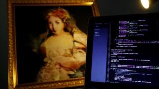 A Condessa de Belamy, um dos quadros do sistema de inteligência artificial