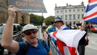 """As divisões entre os militantes de base e a liderança vão muito além do """"Brexit""""."""