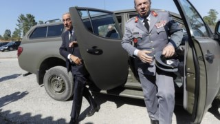 Marcelo levou o ministro da Defesa a Tancos logo após o desaparecimento do arsenal
